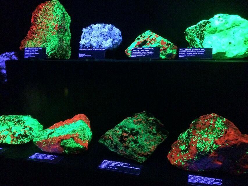Rice museum fluorescent lights