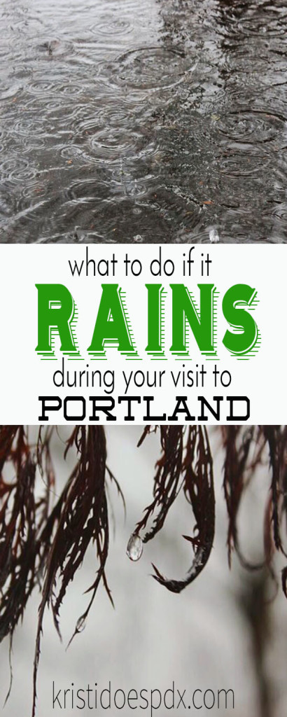 Things to do in the rain in Portland