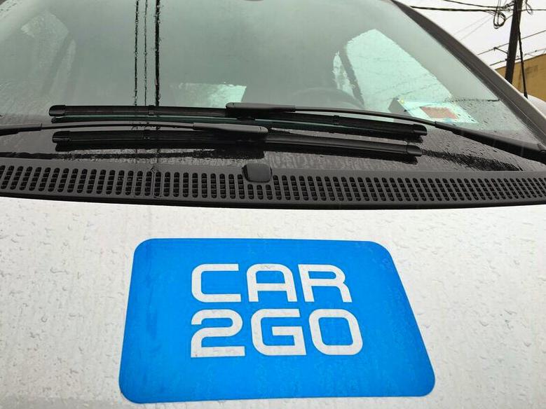 Car2Go hood