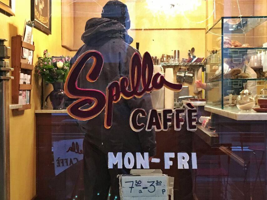Spella caffe front door