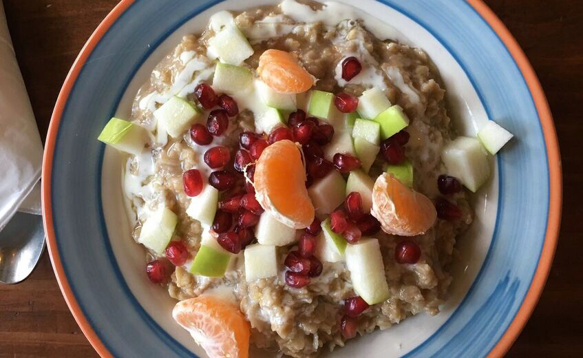 Woodlawn Coffee oatmeal
