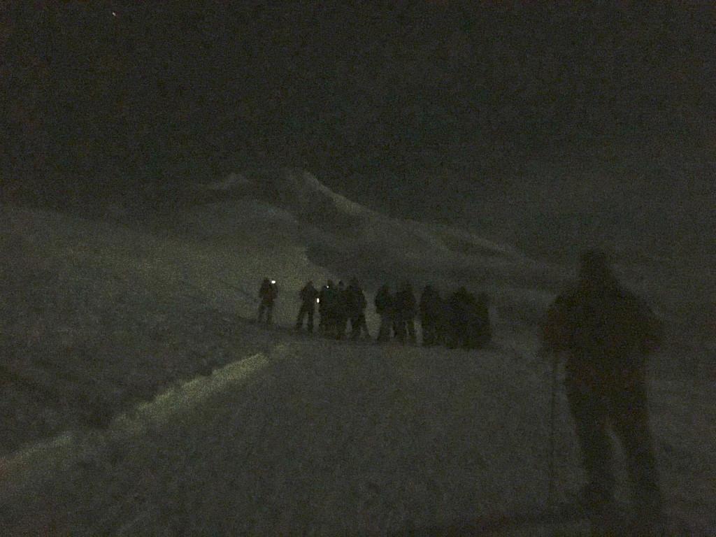 moonlight snowshoe mt hood