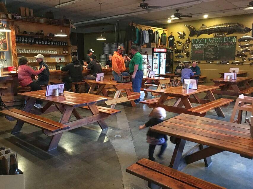 Backwoods Brewing restaurant