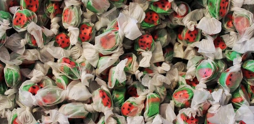 Bruce Candy Kitchen watermelon taffy