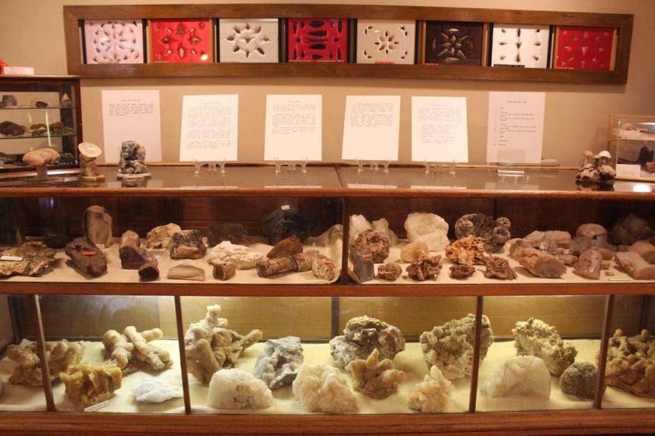 Hutson Museum Rock Case
