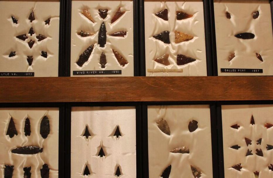 Hutson Museum arrowhead case