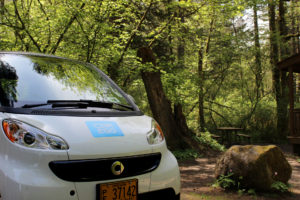 Silverfalls Roadtrip Campground Car2Go
