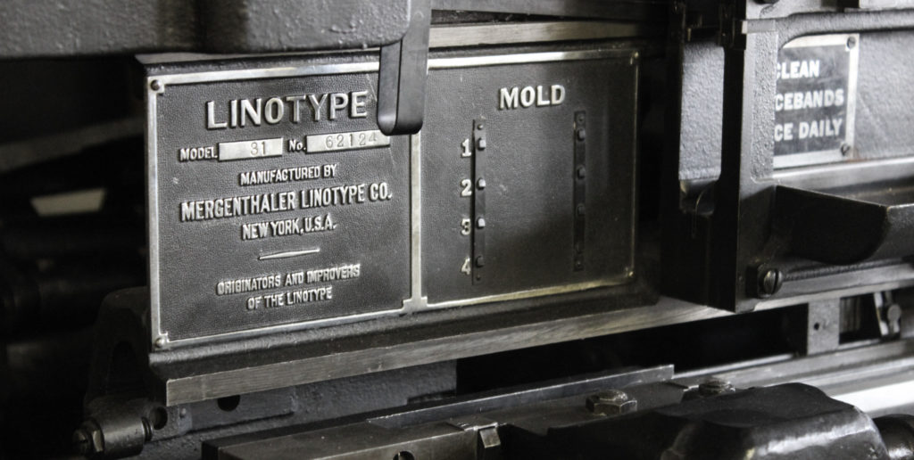 Museum of Typography linotype