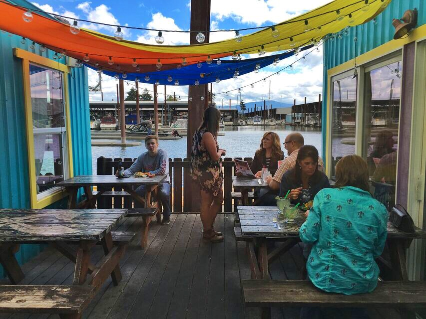 Puffin Cafe patio