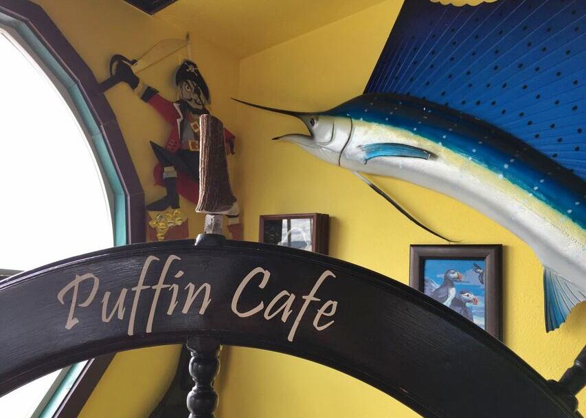 Puffin cafe Marlin