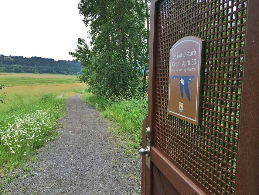 Steigerwald Closed trail