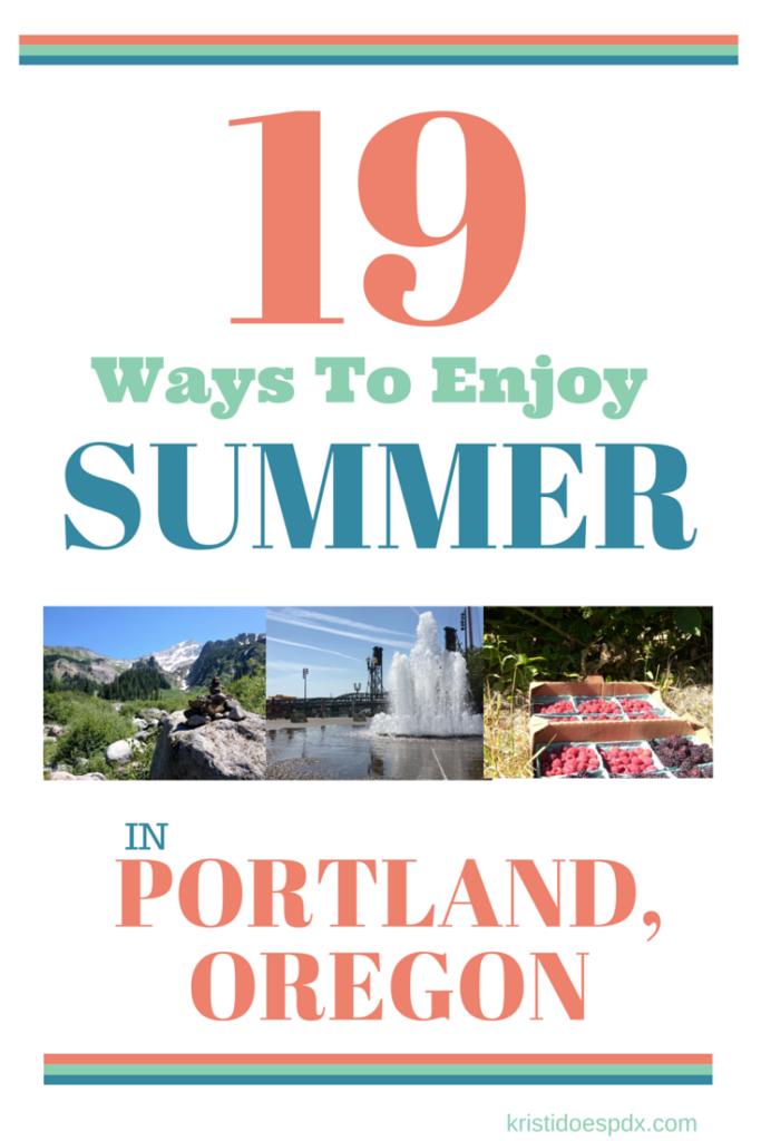Summer Fun in Portland REV