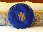 Heathman Hotel Pillow Cover