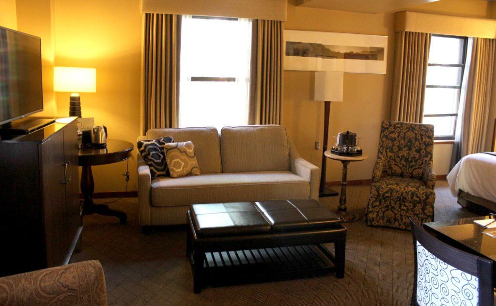Heathman Suite Sitting Area