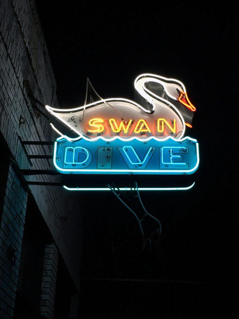 Austin Neon Swan Dive