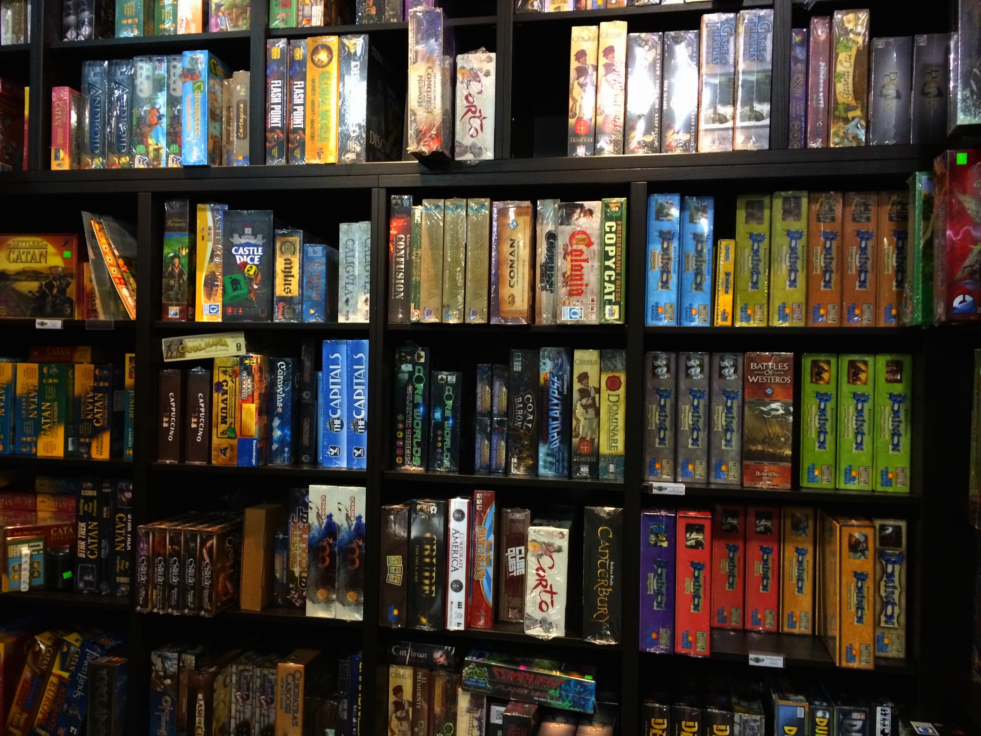 guardian games wall of games