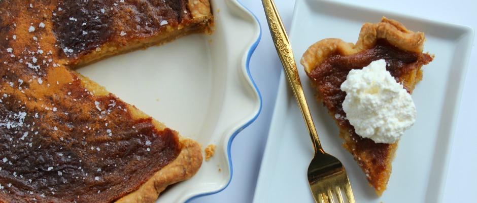 Portland Plates Salted Honey Pie Kristi Does Pdx