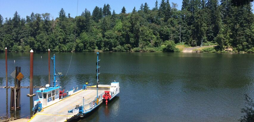 Canby ferry cover