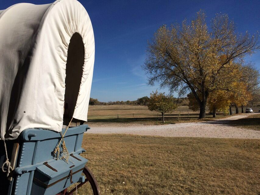 Fort Laramie wagon