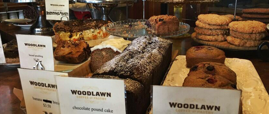 Woodlawn Coffee pastry cover