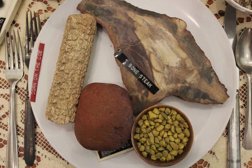 Hutson Museum tbone Rock steak